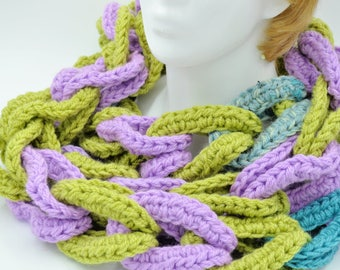 Women Oversized  extra long scarf / crocheted scarf / handmade ladies scarf / women gift for her sister, daughter  boho gift for teenager