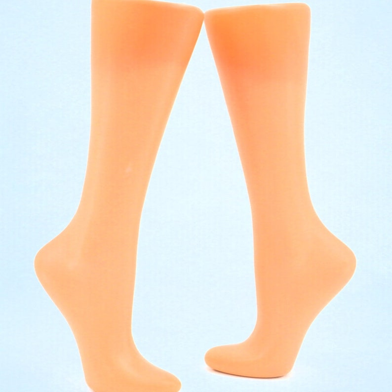 Free Standing Store Display Calf and Foot For socks Mannequin image 0