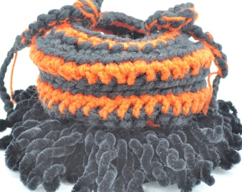 Trick or Treat Bag, Small Goodie Bag, Crochet Candy Bag,  Handmade Candy Bag