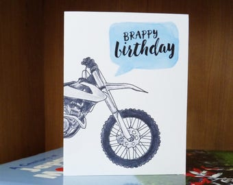 Motocross birthday Etsy