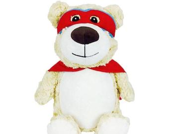 Personalised Name Cubbie Teddy