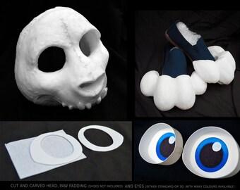 Fursuit skull | Etsy