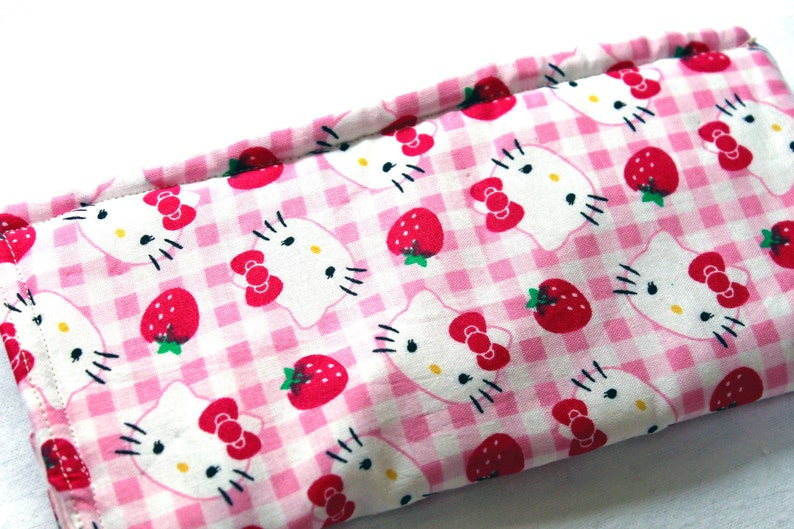 bb9afb0cc Hello Kitty Strawberries eyeglass case Hello Kitty sunglass | Etsy