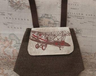 Steampunk belt loop Lady or Gentlemans pouch