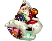 Christopher Radko RIDING BEARBACK Ornament 98-158-0 NWT