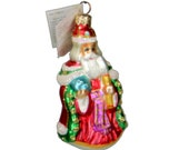 Christopher Radko Westminster Santa Ornament 95-189-0 NWT