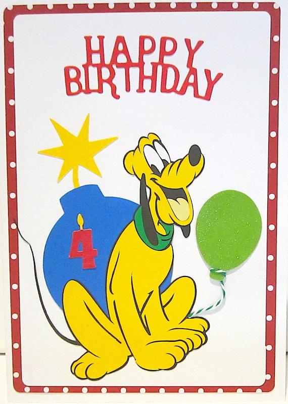 Happy 4th birthdayhomemade birthday cardshandmade birthday etsy image 0 m4hsunfo