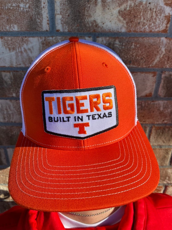 Tigers Built in Texas Patch Trucker Hat