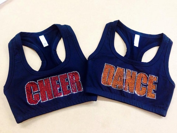 Blinged Out Sports Bras