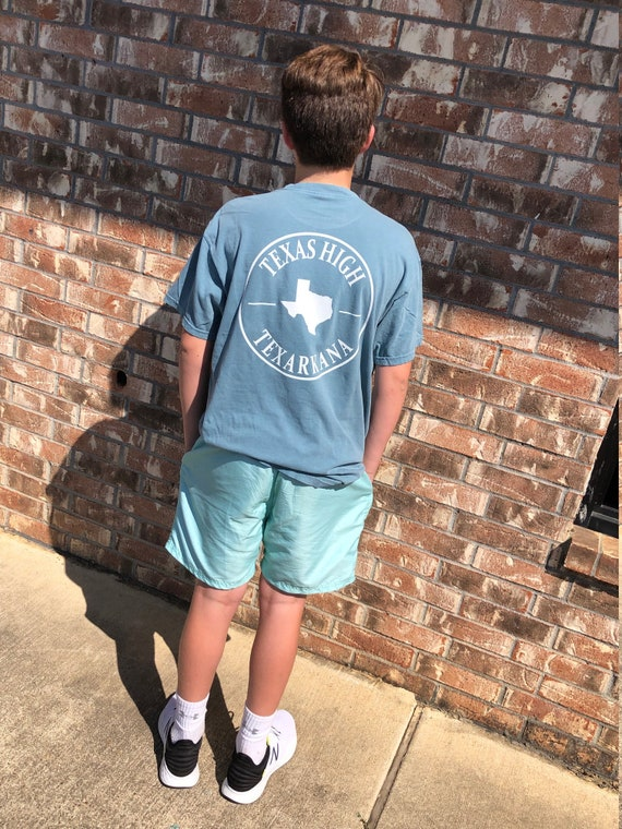 Texas High Texarkana Comfort Colors Pocket Tee