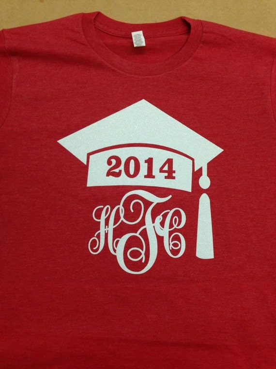 Graduation Cap Baseball Sleeve Tee