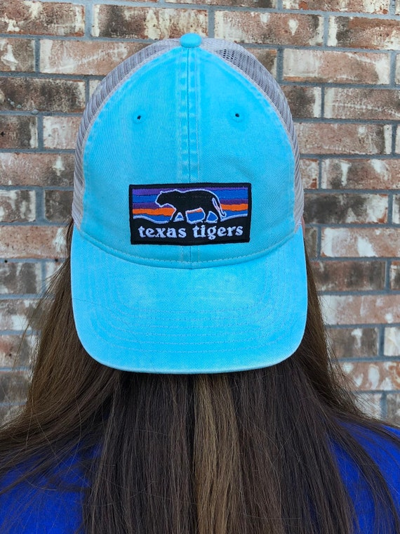 Texas Tigers Comfort Color Mesh Back Patch Hat
