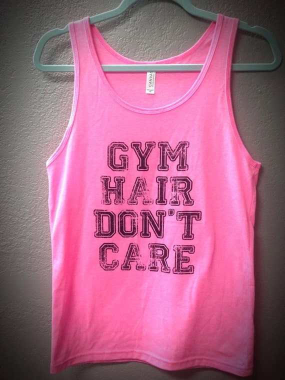 Hair Don't Care Neon Tanks