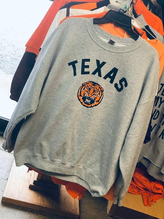 Vintage Texas Tiger Crewneck Sweatshirt