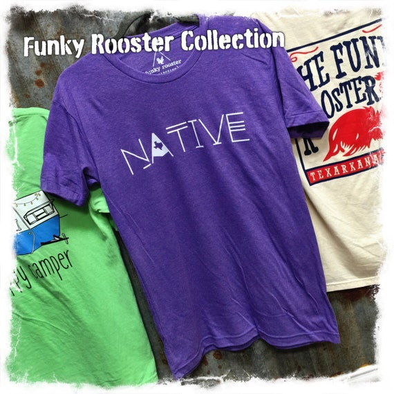 Funky Rooster Collection Native Tee