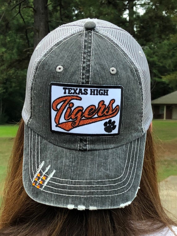 "Texas High Tigers ""just a little bling"" Patch Hat"