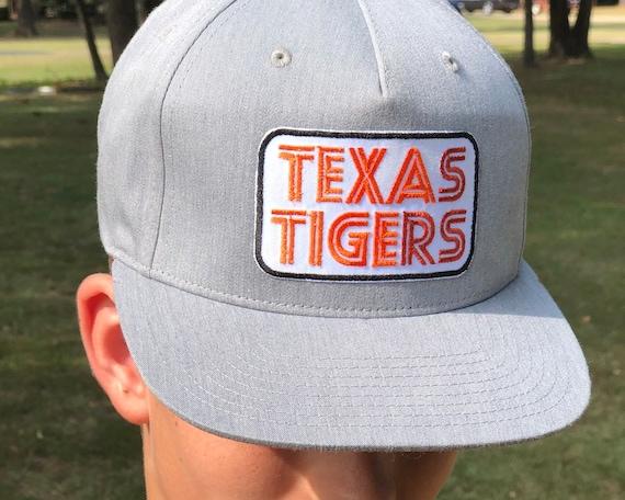Texas Tigers Retro Snapback Patch Hat