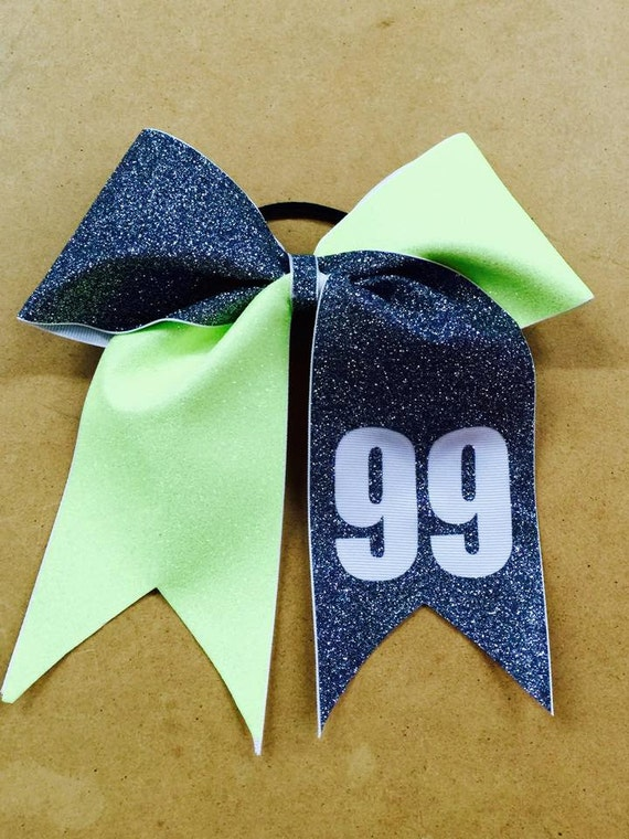 Large Glitter Spirit Bow