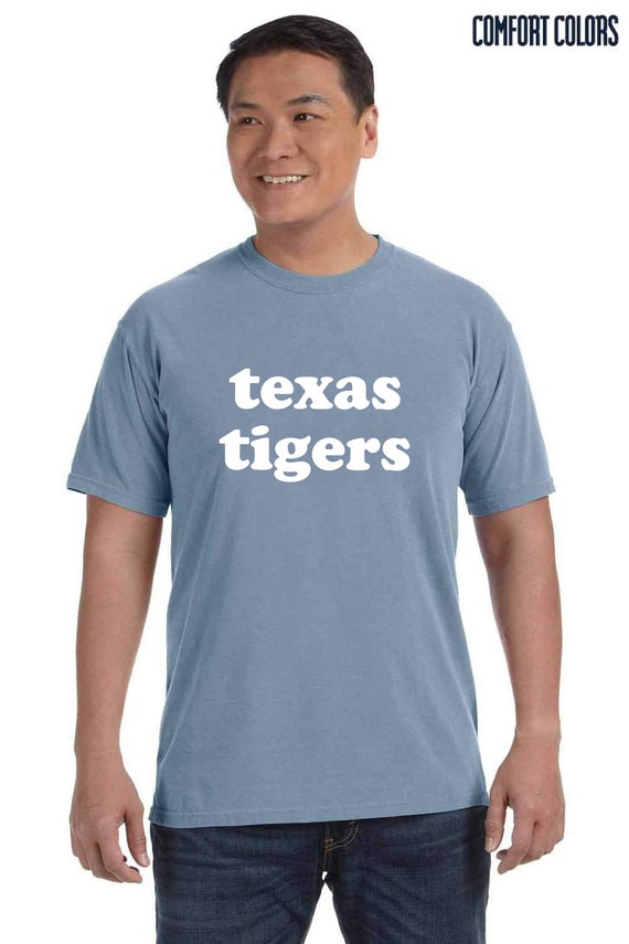 Texas Tigers Comfort Colors Short Sleeve Tee