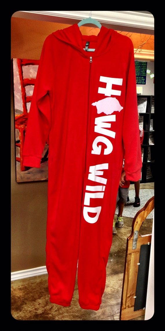 Hawg Wild Fleece Pajamas