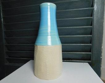 Sky Blue Bud Vase