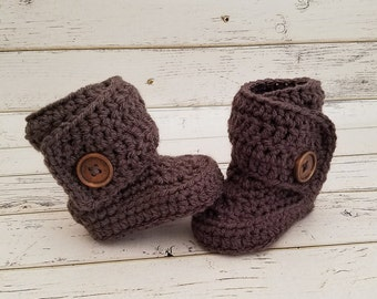 Crochet Baby Booties, Baby Boots, Baby Boy Shoes, Baby Girl Shoes, Custom Baby Shoes, Baby Slippers, Baby Shower Best Seller, MADE2ORDER