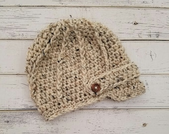 Baby Boy Hat Newborn Baby Boy Hat Newborn Hat Baby Hat Baby Newborn Boy Hat Baby Newsboy Hat Newborn Photo Prop Boy Baby Gift MADE2ORDER