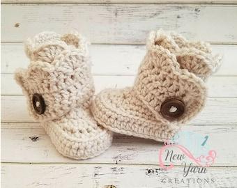 b05ef00ea Crochet baby shoes