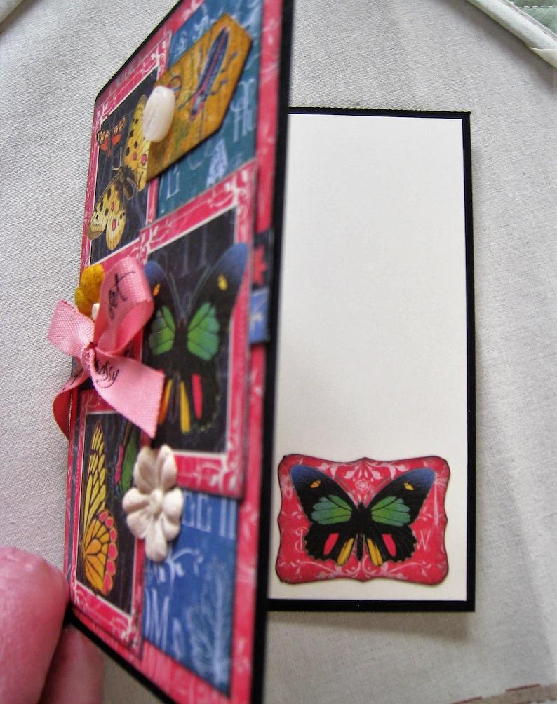 graphic 45 handmade card flutter take flight  etsy