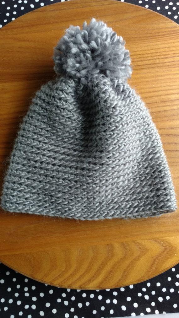 Pdf Pattern Instant Download Back Loop Single Crochet Hat Etsy