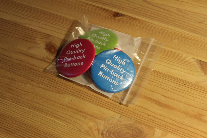 Baby Trump Blimp Buttons 2-Pack