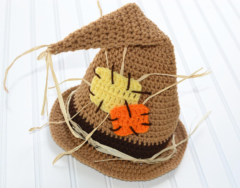 Toddler Scarecrow Hat/ Halloween Costume/ Baby Halloween Hat/ | Etsy
