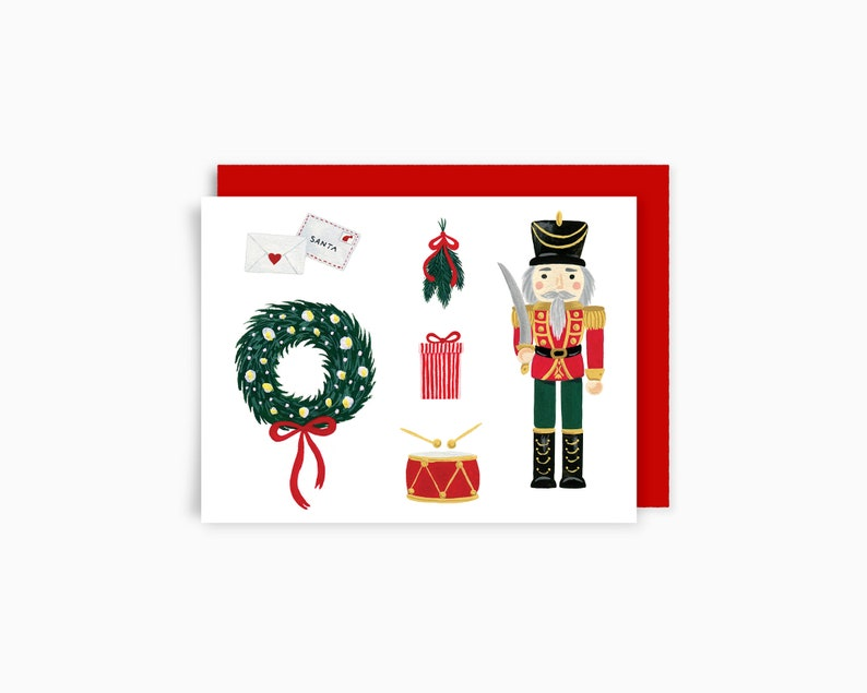 Holiday Greeting Card   The Soldier image 0
