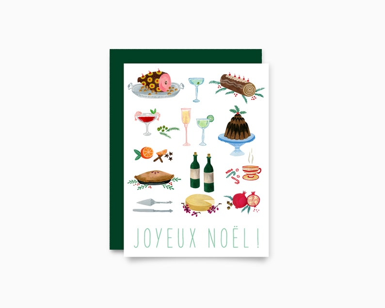 Holiday greeting card  Feast image 0