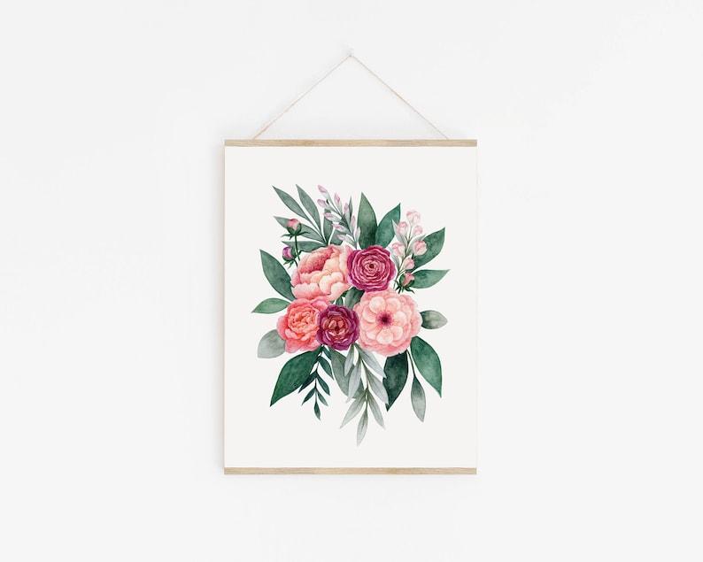 Floral Bouquet Art Print image 0