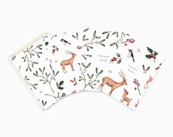 Card Pack - The Rustic Christmas Collection