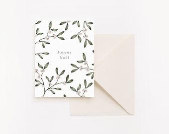 Christmas Card - Under the mistletoe