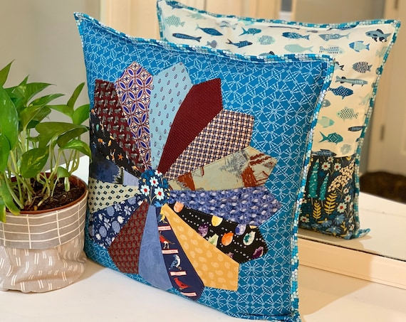Necktie Memory Pillow Cover Sewing Pattern