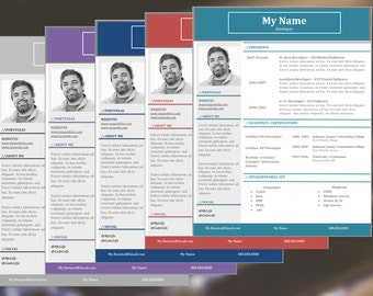the flow resume template cover references and thank you