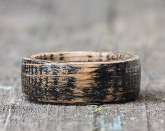Black Tennessee Whiskey Barrel Ring