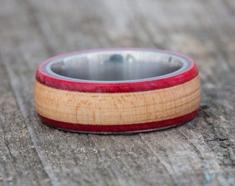 Chicago Bulls 1987-1994 Flooring Wood and Titanium Ring
