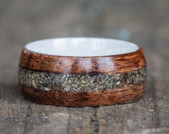 Sand Inlay Rings