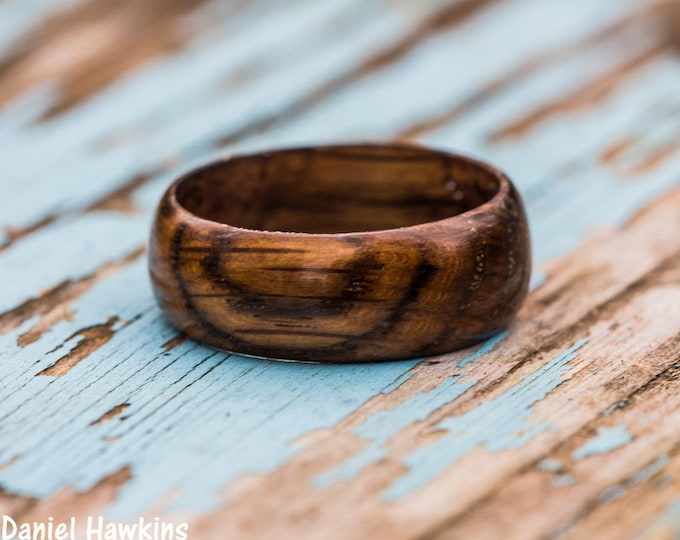 Featured listing image: Tennessee Whiskey Barrel Wood Ring