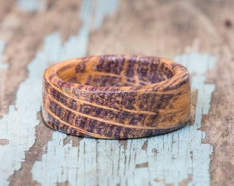 Purple Tennessee Whiskey Barrel Ring