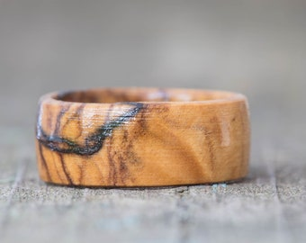 Solid Wood Rings