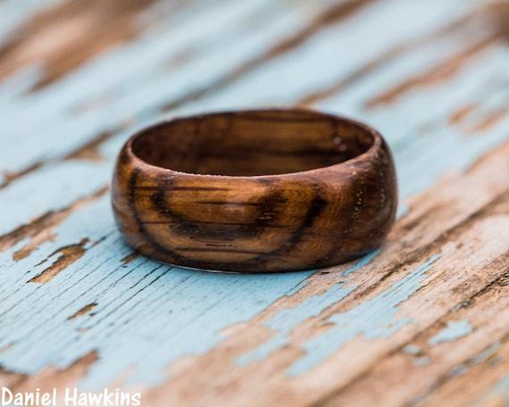 acheter populaire a5738 261cd Bague en bois tonneau Tennessee whisky - whisky canon bague anneau en bois  bois récupéré hommes bande de mariage femmes bague de fiançailles ...