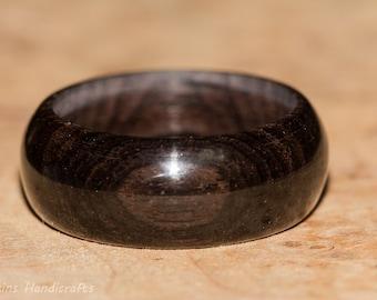 African Blackwood Ring