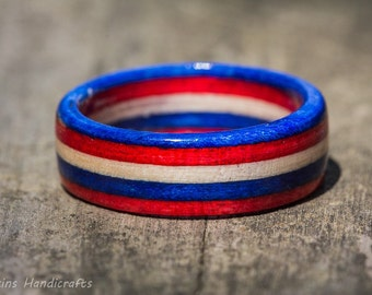 Americana Wood Ring