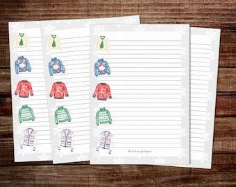 Writing Paper Goodbye Kiss A5 Stationery