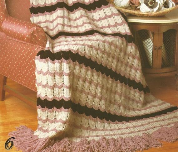 Afghanische stricken neue Traditionen Pdf werfen Bett decken | Etsy